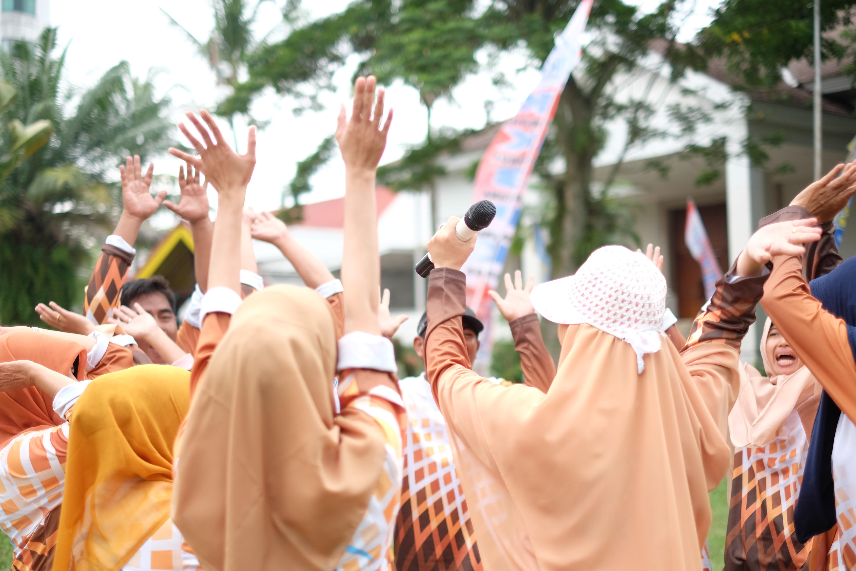 outbound yang penuh dnegan motivasi di pekanbaru riau, sumatra